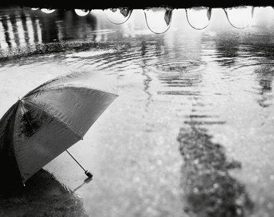 Saudade do cheiro da chuva