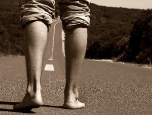 Somos os passos do começo ou do fim